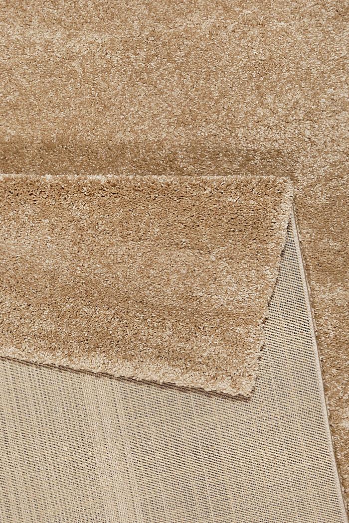Web-Teppich, einfarbig und weich, BEIGE, detail image number 2