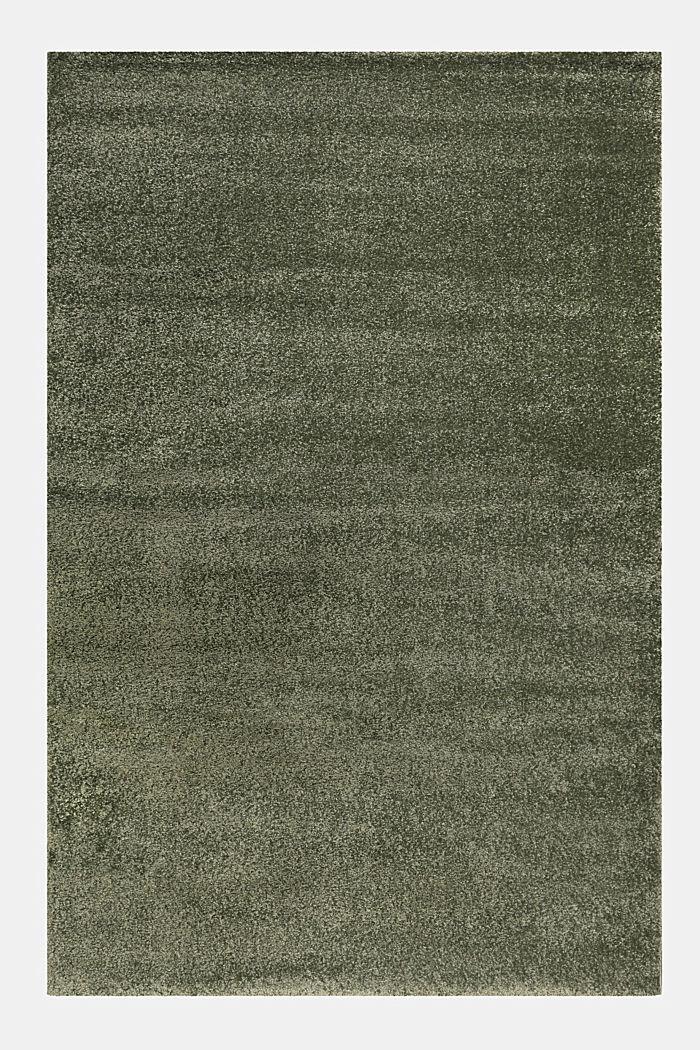 Web-Teppich, einfarbig und weich, DARK GREEN, detail image number 0