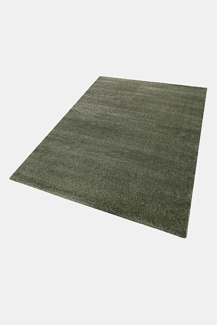 Web-Teppich, einfarbig und weich, DARK GREEN, detail image number 4
