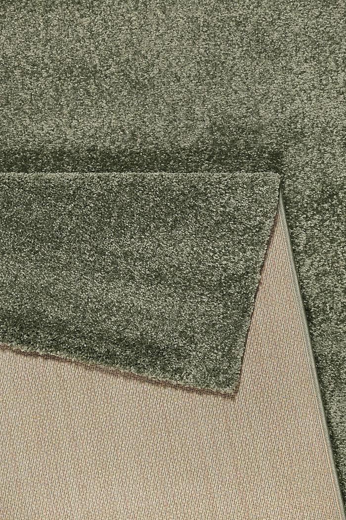 Web-Teppich, einfarbig und weich, DARK GREEN, detail image number 2