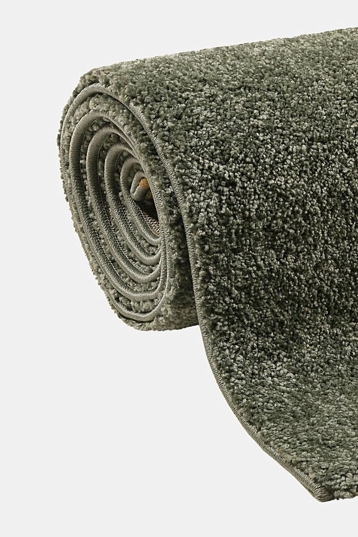 Web-Teppich, einfarbig und weich, DARK GREEN, detail image number 3