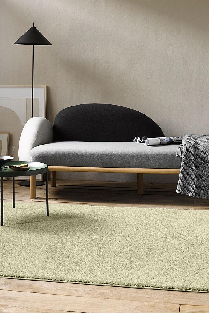 Web-Teppich, einfarbig und weich, GREEN, detail image number 3
