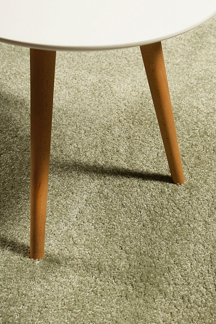 Web-Teppich, einfarbig und weich, GREEN, detail image number 1