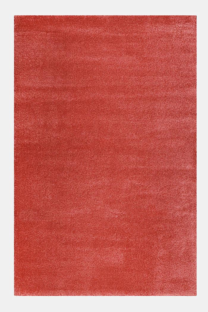 Web-Teppich, einfarbig und weich, PINK, detail image number 0