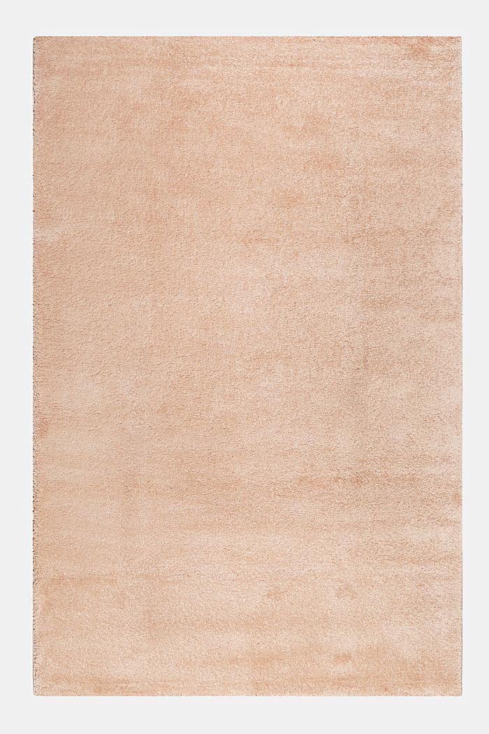 Web-Teppich, einfarbig und weich, LIGHT PINK, detail image number 0