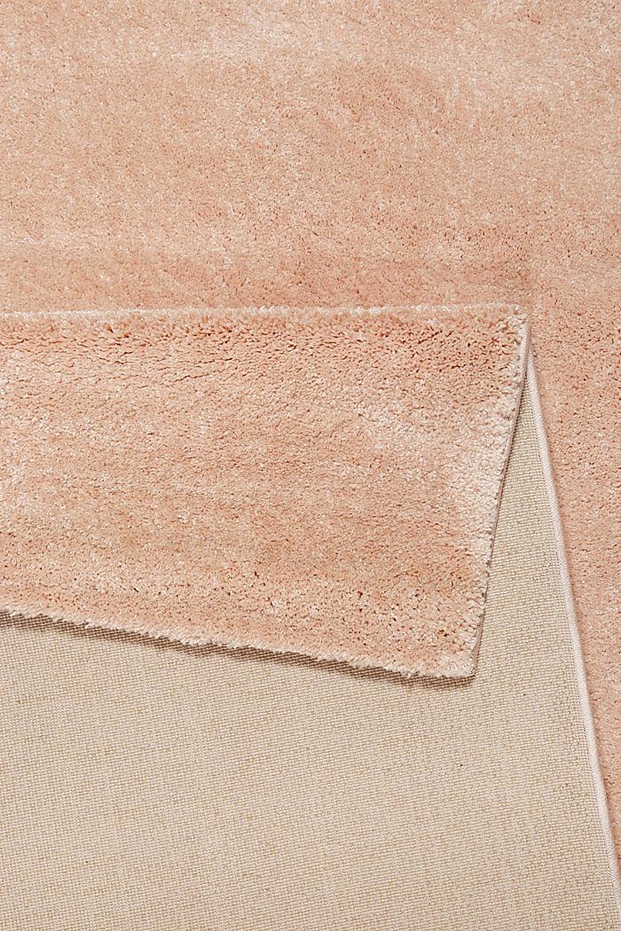 Web-Teppich, einfarbig und weich, LIGHT PINK, detail image number 2