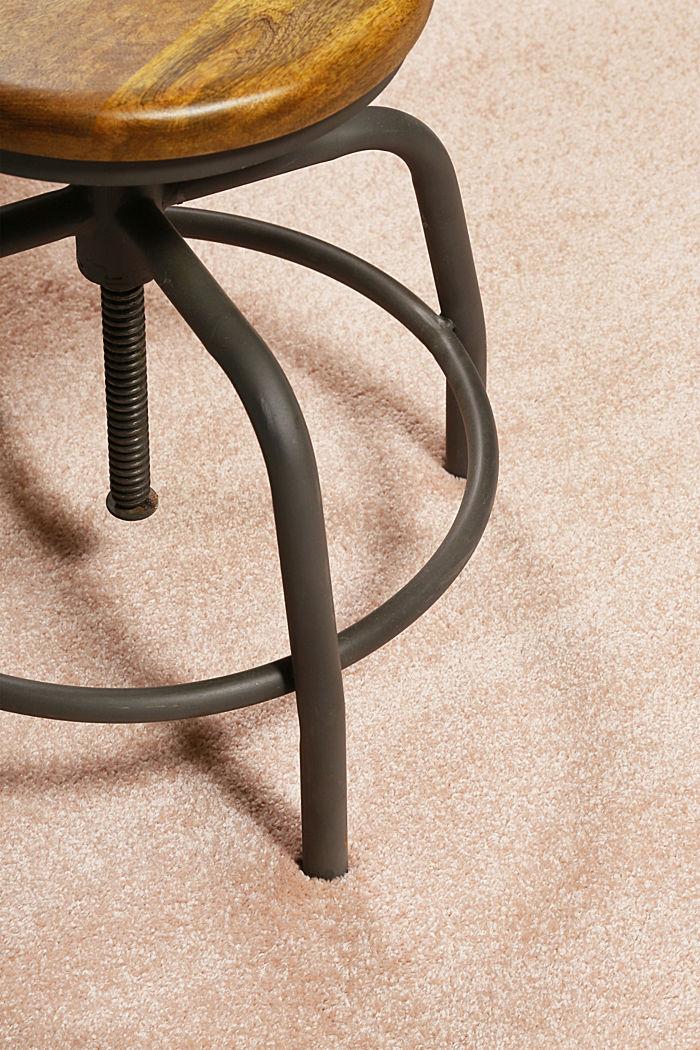 Web-Teppich, einfarbig und weich, LIGHT PINK, detail image number 1
