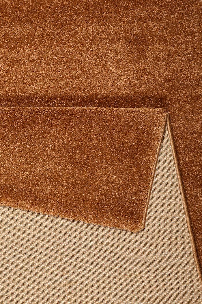 Web-Teppich, einfarbig und weich, CINNAMON, detail image number 2