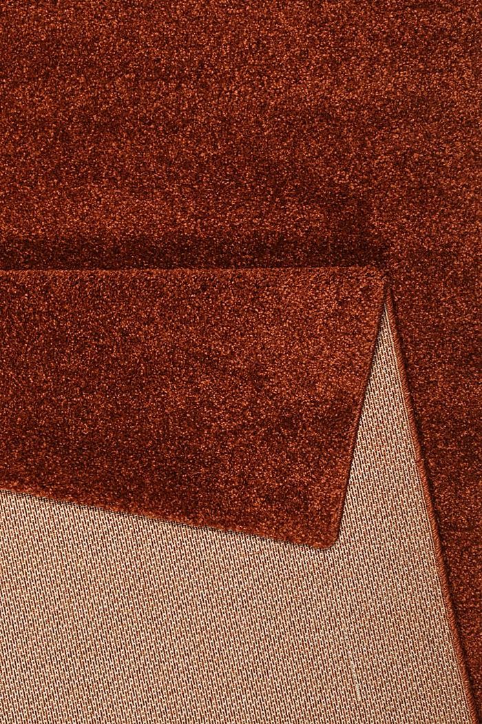 Web-Teppich, einfarbig und weich, TERRACOTTA, detail image number 2