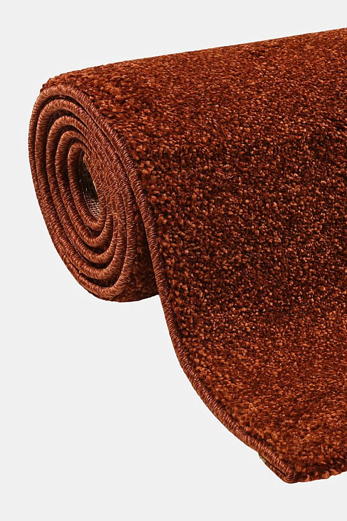 Web-Teppich, einfarbig und weich, TERRACOTTA, detail image number 3