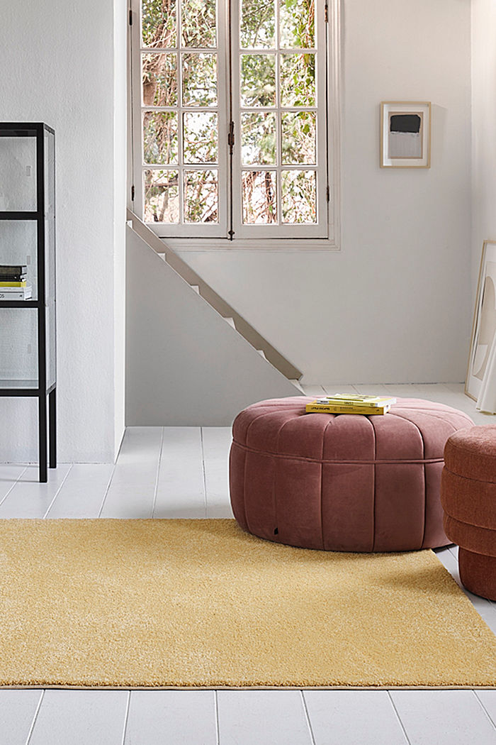 Web-Teppich, einfarbig und weich, ORANGE, detail image number 3