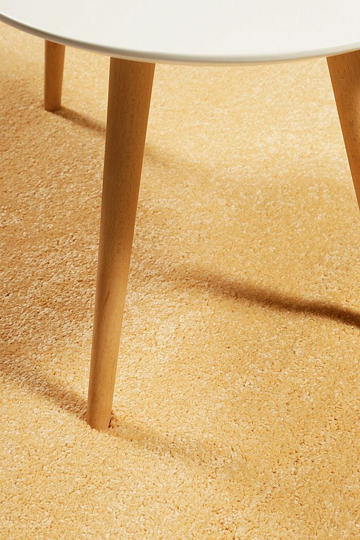 Web-Teppich, einfarbig und weich, ORANGE, detail image number 1