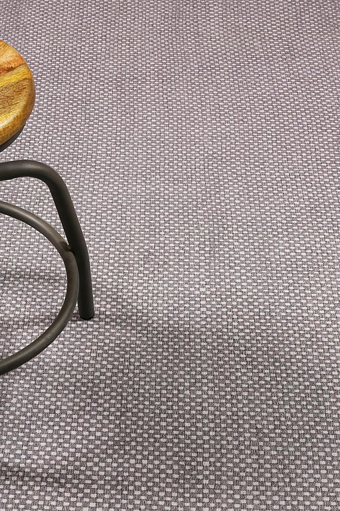 Kurzflor-Teppich mit upgecycelter Baumwolle