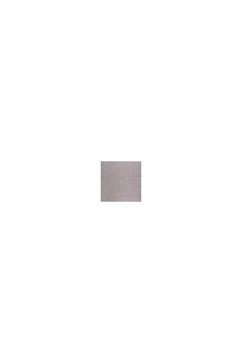 Kurzflor-Teppich mit upgecycelter Baumwolle, GREY, swatch
