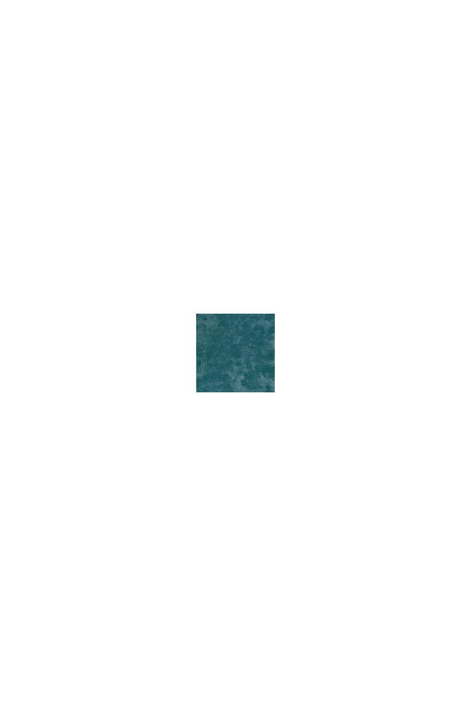 Hochflor-Teppich im unifarbenen Design, EMERALD GREEN, swatch