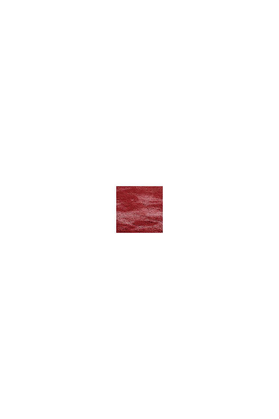 Hochflor-Teppich im unifarbenen Design, RED, swatch