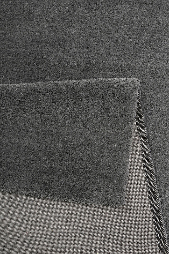 Hochflor-Teppich in vielen Trendfarben, SLATE GREY, detail image number 2