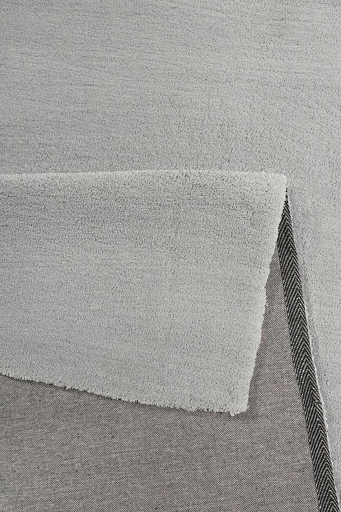 Hochflor-Teppich in vielen Trendfarben, MEDIUM GREY, detail image number 2