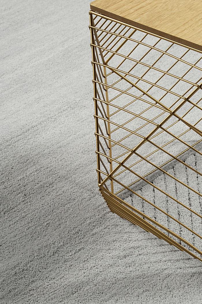 Hochflor-Teppich in vielen Trendfarben, MEDIUM GREY, detail image number 3