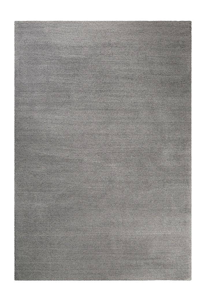 Hochflor-Teppich in vielen Trendfarben, PEBBLE GREY, detail image number 0