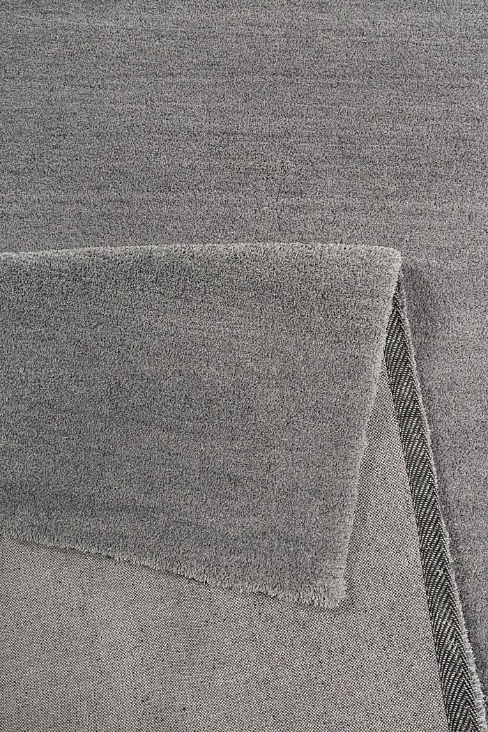 Hochflor-Teppich in vielen Trendfarben, PEBBLE GREY, detail image number 2