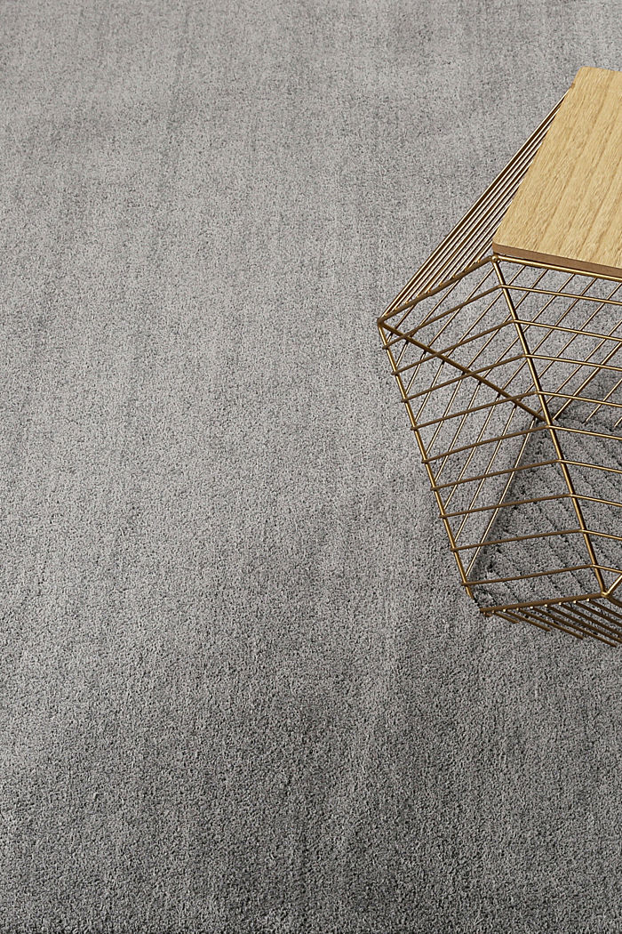 Hochflor-Teppich in vielen Trendfarben, PEBBLE GREY, detail image number 3