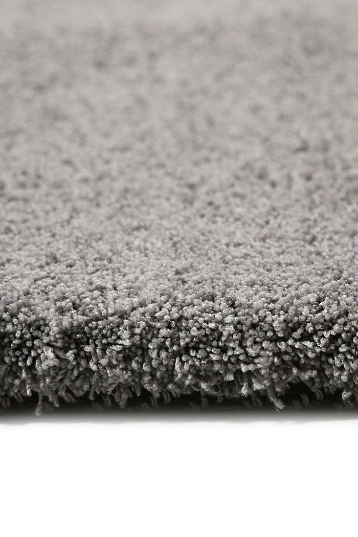 Hochflor-Teppich in vielen Trendfarben, PEBBLE GREY, detail image number 1