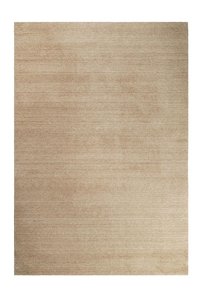 Hochflor-Teppich in vielen Trendfarben, CARAMEL, detail image number 0