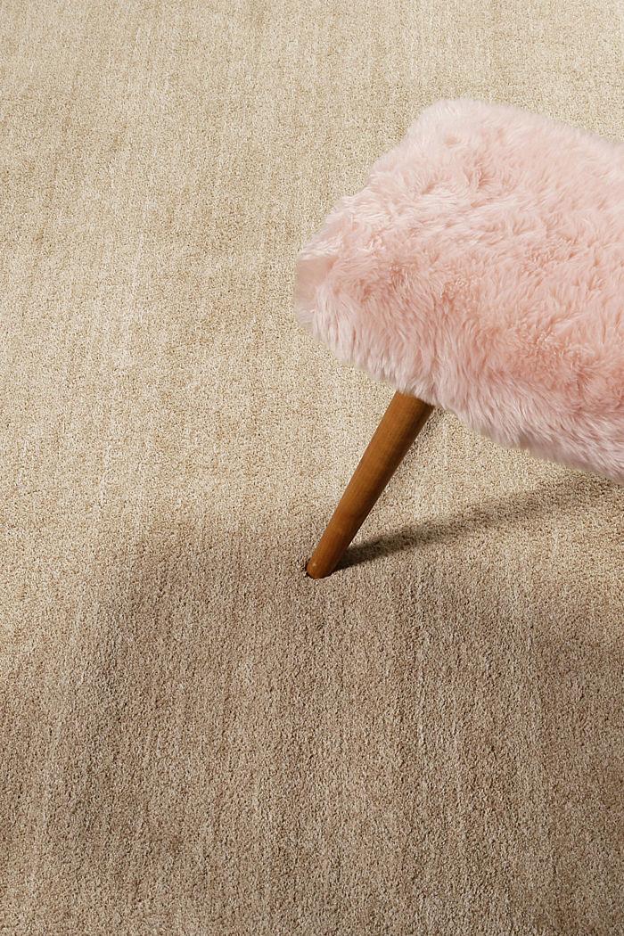 Hochflor-Teppich in vielen Trendfarben, CARAMEL, detail image number 3