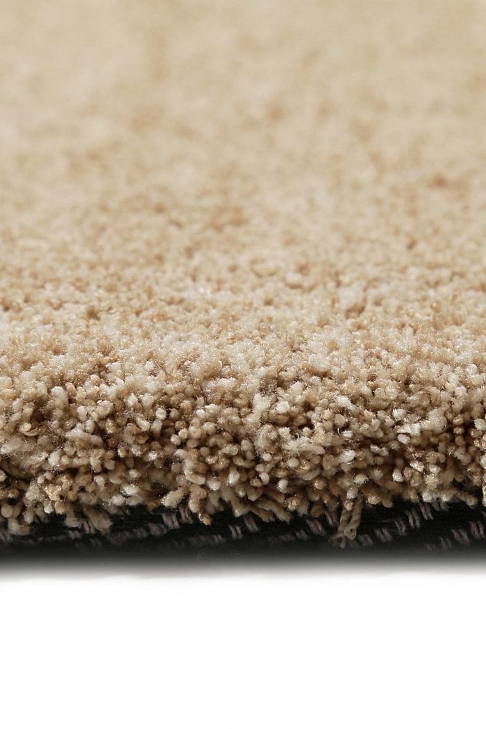 Hochflor-Teppich in vielen Trendfarben, CARAMEL, detail image number 1