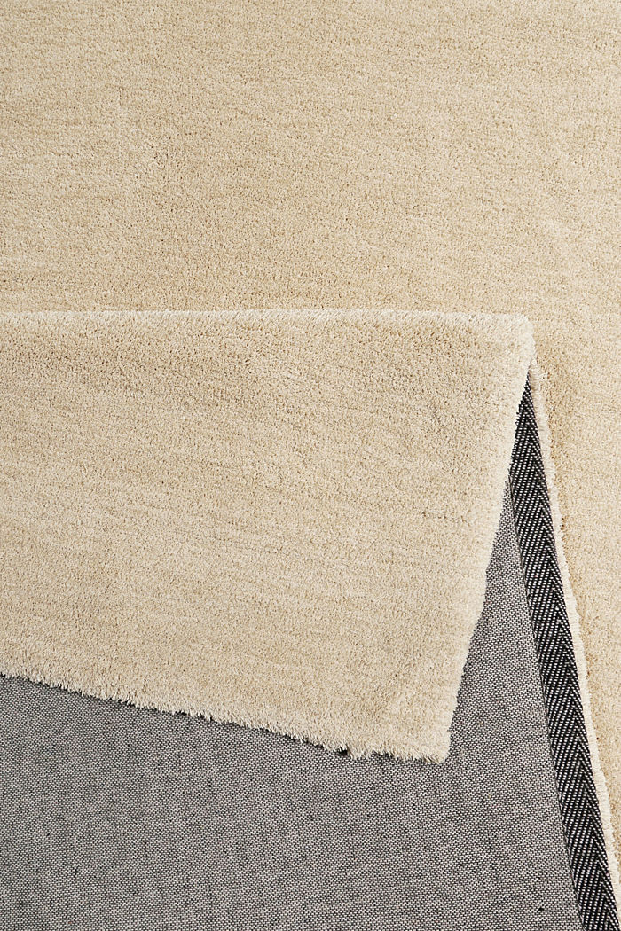 Hochflor-Teppich in vielen Trendfarben, BEIGE, detail image number 2