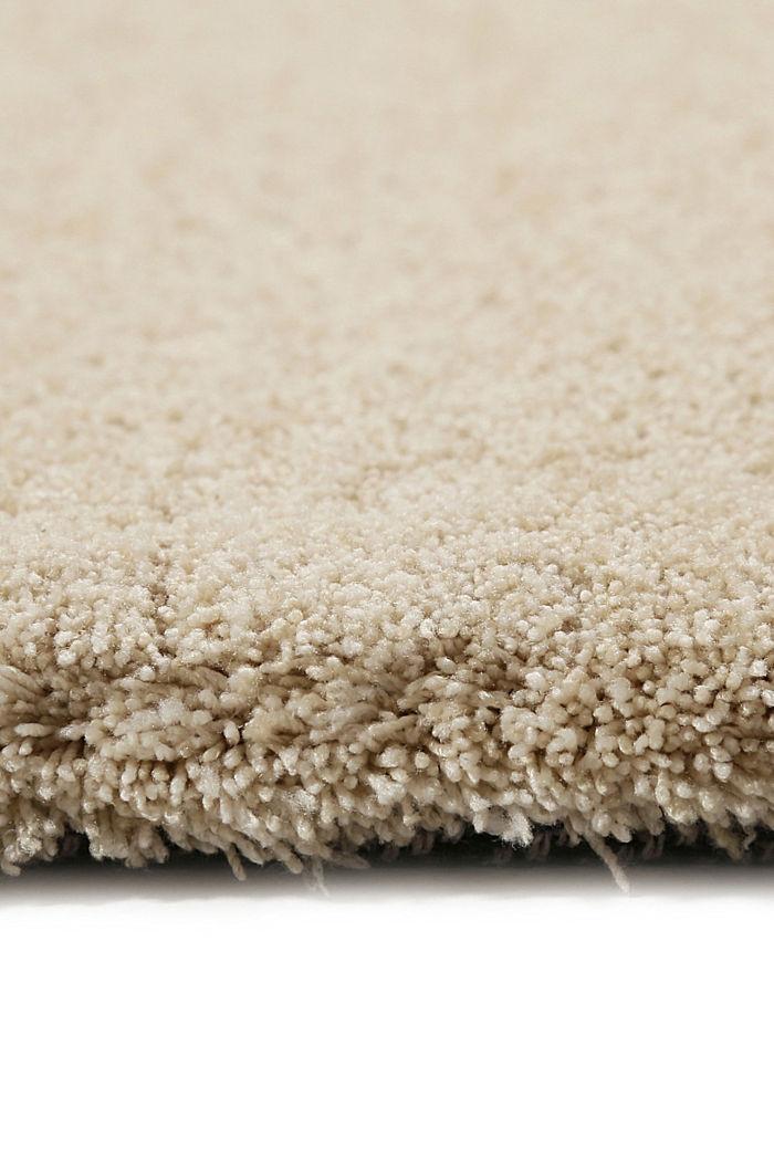 Hochflor-Teppich in vielen Trendfarben, BEIGE, detail image number 1