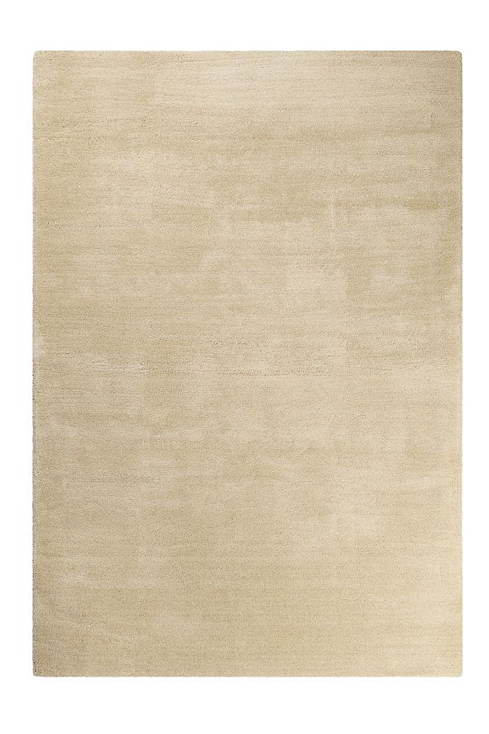 Hochflor-Teppich in vielen Trendfarben, SAND, detail image number 0