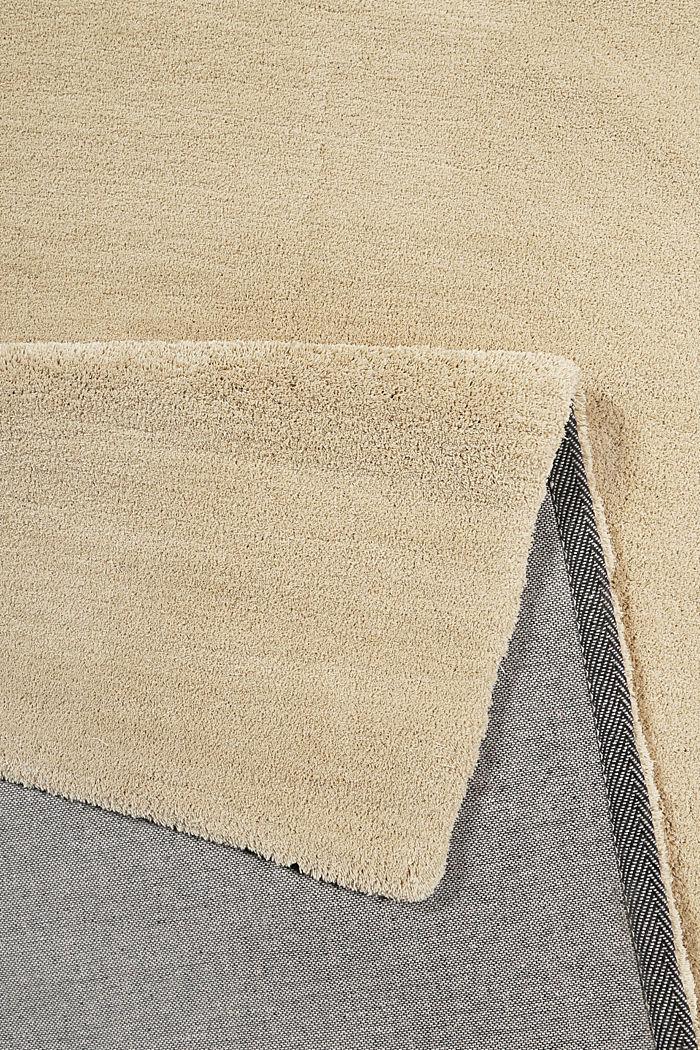 Hochflor-Teppich in vielen Trendfarben, SAND, detail image number 2