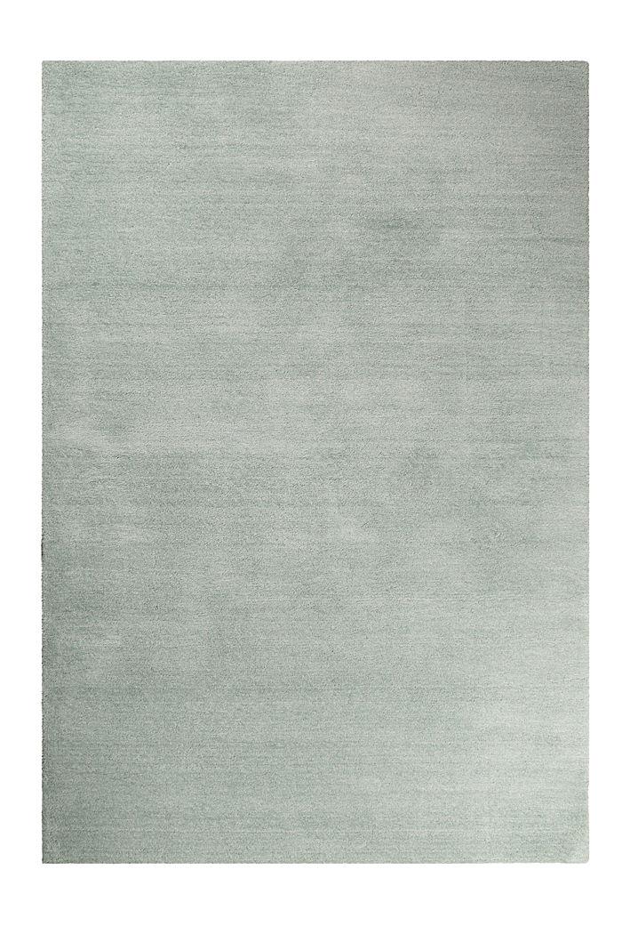 Hochflor-Teppich in vielen Trendfarben, LIGHT GREEN, detail image number 0