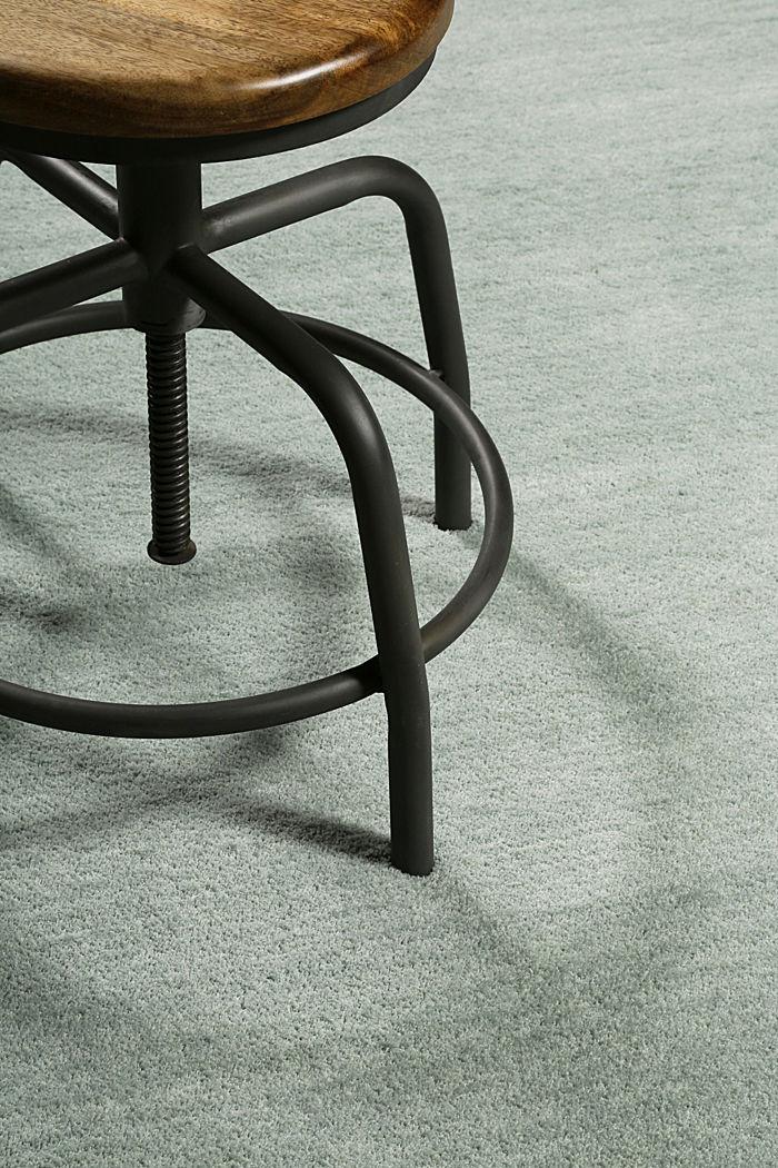 Hochflor-Teppich in vielen Trendfarben, LIGHT GREEN, detail image number 3