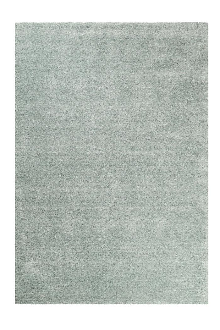 Hochflor-Teppich in vielen Trendfarben, RESEDA GREEN, detail image number 0