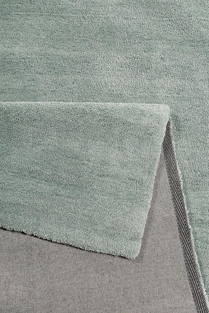 Hochflor-Teppich in vielen Trendfarben, RESEDA GREEN, detail image number 2
