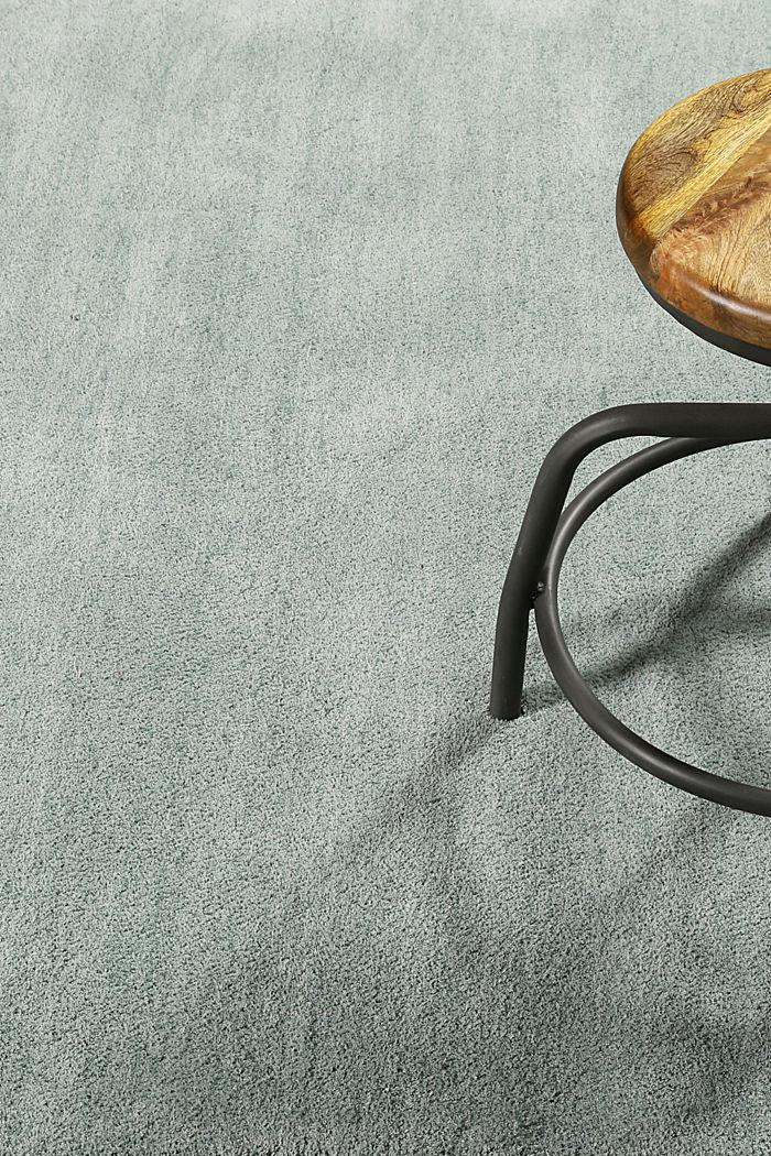 Hochflor-Teppich in vielen Trendfarben, RESEDA GREEN, detail image number 3