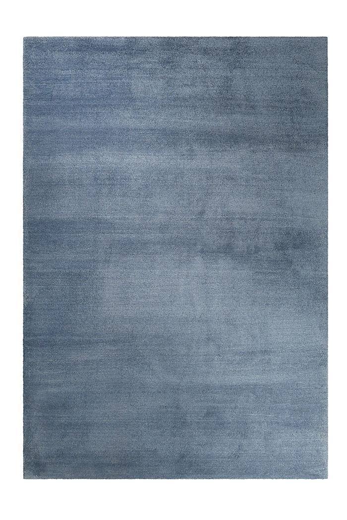 Hochflor-Teppich in vielen Trendfarben, GREY BLUE, detail image number 0