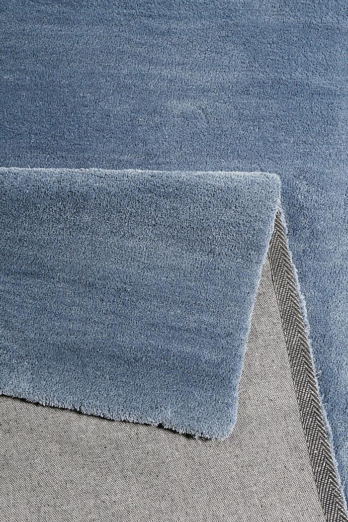Hochflor-Teppich in vielen Trendfarben, GREY BLUE, detail image number 2