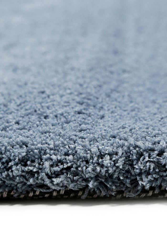 Hochflor-Teppich in vielen Trendfarben, GREY BLUE, detail image number 1
