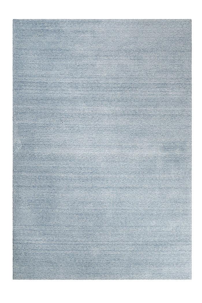 Hochflor-Teppich in vielen Trendfarben, ICE BLUE, detail image number 0