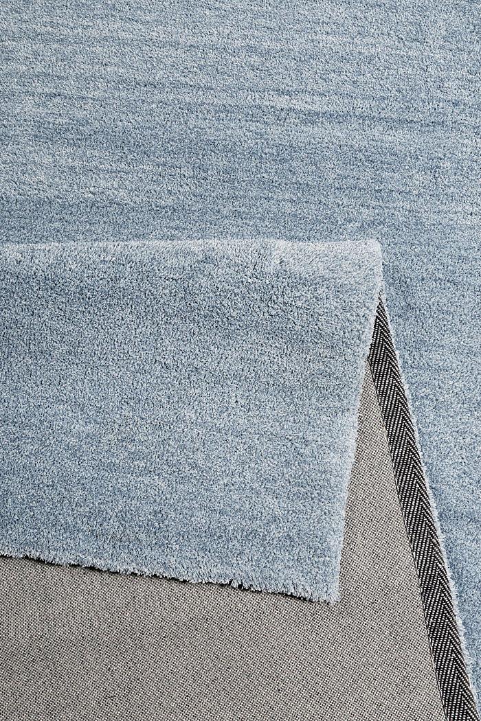 Hochflor-Teppich in vielen Trendfarben, ICE BLUE, detail image number 2