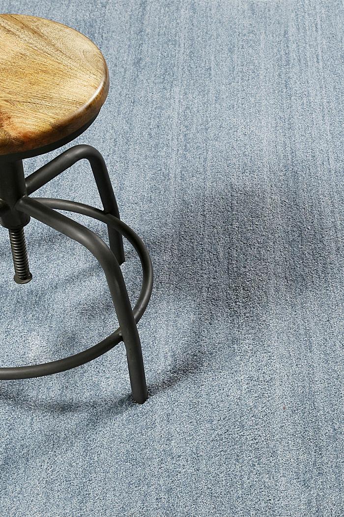 Hochflor-Teppich in vielen Trendfarben, ICE BLUE, detail image number 3