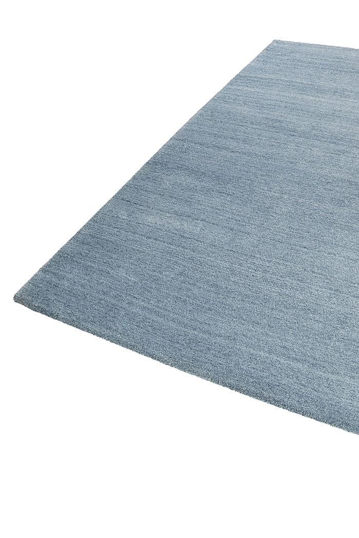Hochflor-Teppich in vielen Trendfarben, MIDDLE BLUE, detail image number 4
