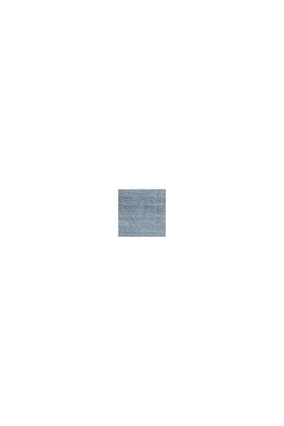 Hochflor-Teppich in vielen Trendfarben, MIDDLE BLUE, swatch