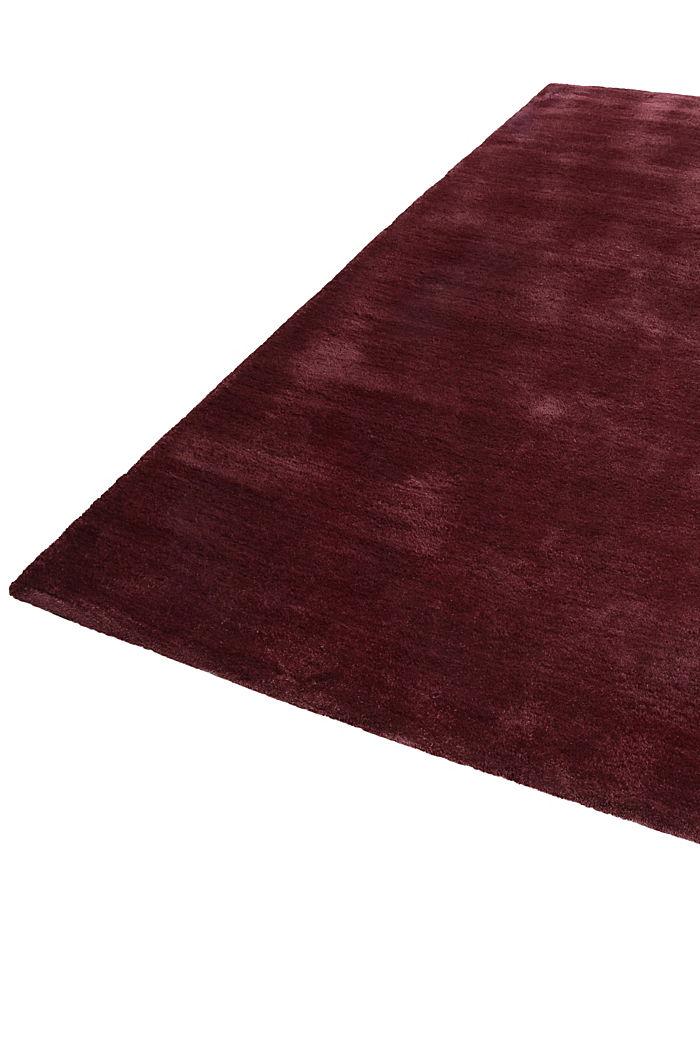 Hochflor-Teppich in vielen Trendfarben, BORDEAUX, detail image number 4