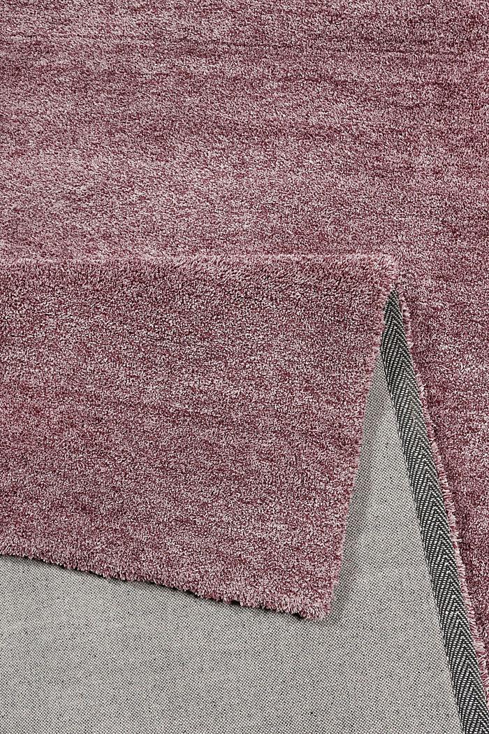 Hochflor-Teppich in vielen Trendfarben, BERRY, detail image number 2