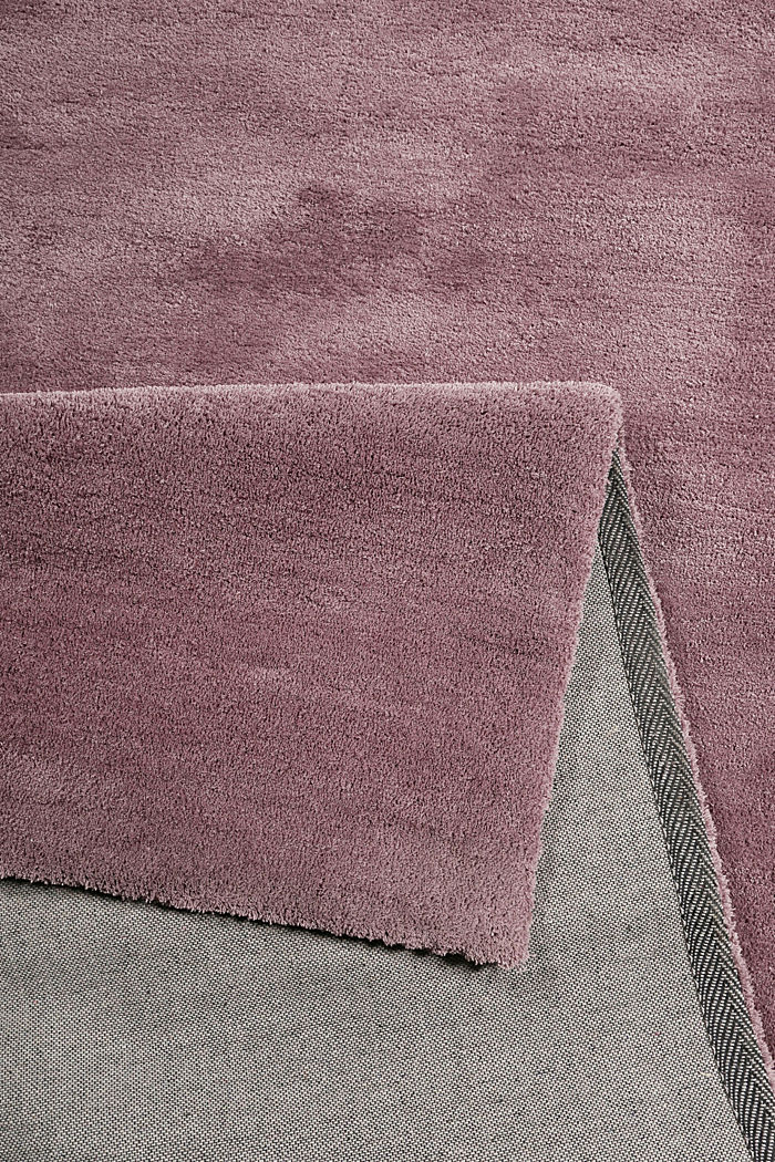 Hochflor-Teppich in vielen Trendfarben, LILAC, detail image number 2